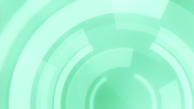vídeos y material grabado en eventos de stock de 4k circular fondos loopable - fondo turquesa