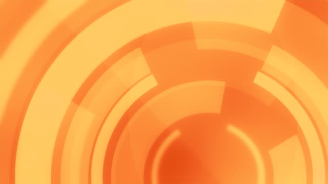 4k circular backgrounds loopable - orange colour background stock videos & royalty-free footage