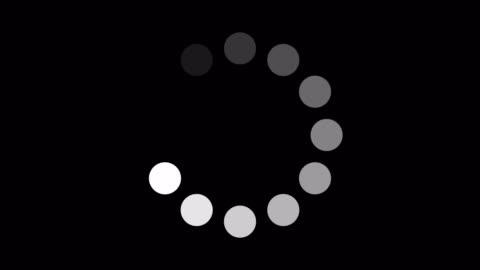 vídeos y material grabado en eventos de stock de vídeo bursátil de circular progress bars - cargar