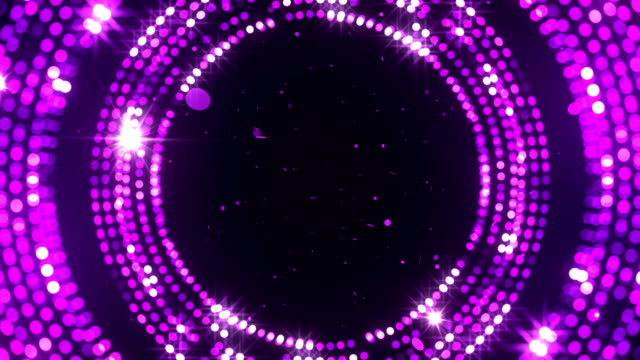 circular reflectors dots luxury background stock video - sequin stock videos & royalty-free footage