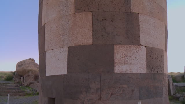 circular structure made of stones 3 - brick stock videos & royalty-free footage