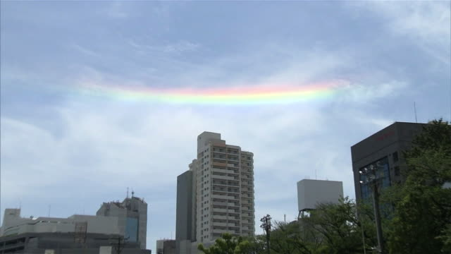 circumhorizontal arc - 虹点の映像素材/bロール