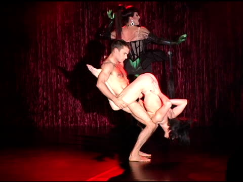 cirque du soleil performers at the zink magazine november issue celebration with artists from cirque du soleil at bliss lounge in los angeles... - cirque du soleil stock videos & royalty-free footage
