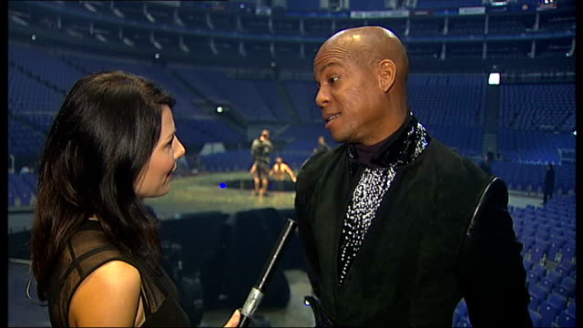 cirque du soleil to perform michael jackson tribute concerts travis payne interview sot - michael jackson stock videos and b-roll footage