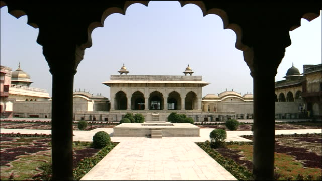 citadel of agra - mughal empire stock videos and b-roll footage
