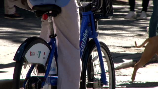 """Citi Bike"" Bicycle Sharing Program - Greenwich Village NYC"
