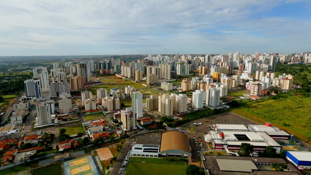 city aguas claras , aerial images - brasilia stock videos and b-roll footage