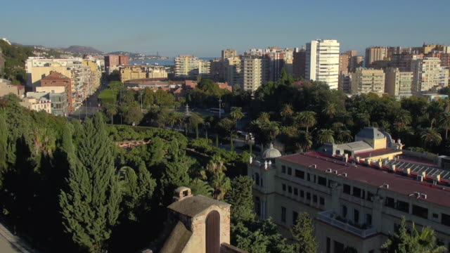 city and port view from alcazaba - segovia stock videos & royalty-free footage