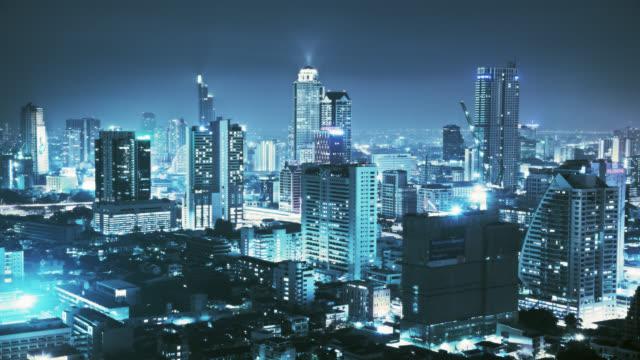 City at night 4K