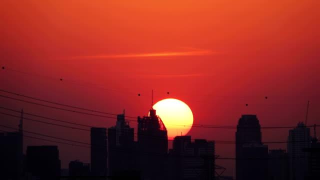 4 k: 夕暮れ市 - バンコク県点の映像素材/bロール