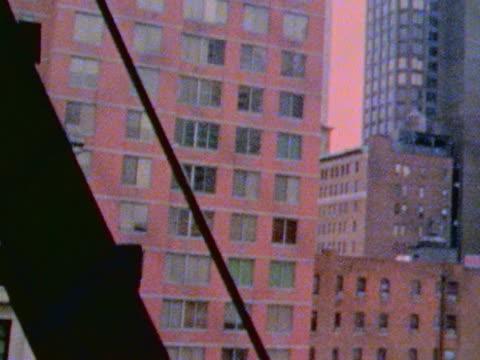 city buildings - 非常階段点の映像素材/bロール