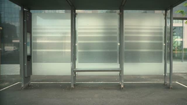 HD: City Bus Stop
