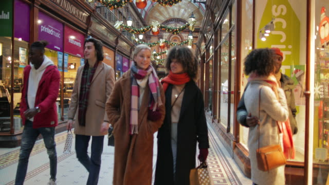 city centre shopping - newcastle upon tyne stock videos & royalty-free footage