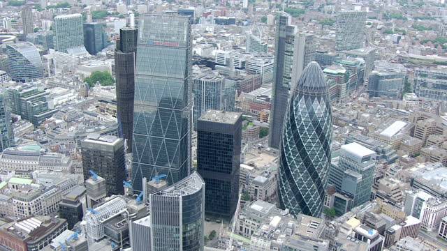 city chiefs hold secret talks on pay revamp showing exterior aerial shots london city financial district boardroom shots interviews with daniel... - financial district stock videos & royalty-free footage
