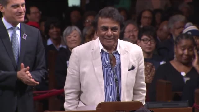 A City Council Honors Johnny Mathis With Lifetime Achievement Award