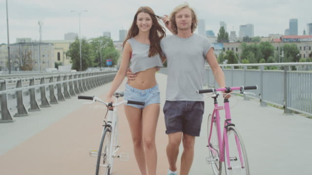 city cycling - hipster stock videos and b-roll footage
