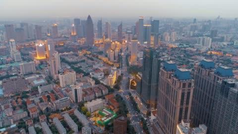 city flyover - beijing stock videos & royalty-free footage