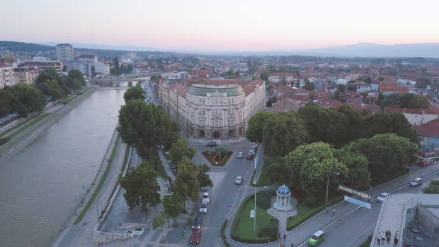 city from the sky - serbia stock videos & royalty-free footage