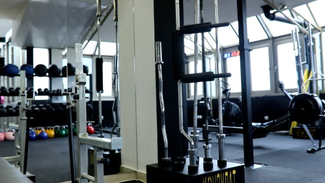city gym - studio stock videos & royalty-free footage