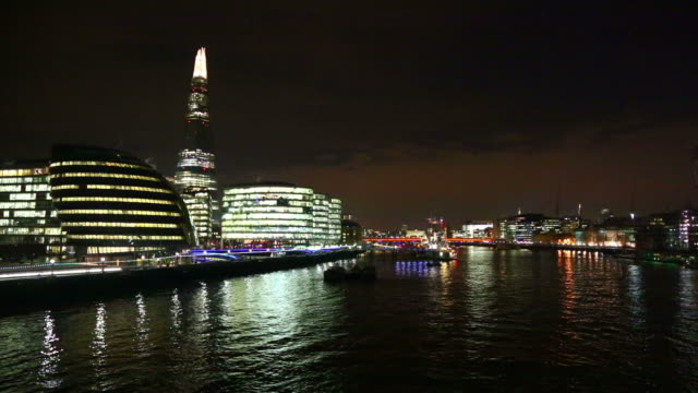 HD: City hall and the Shard skyscraper in London