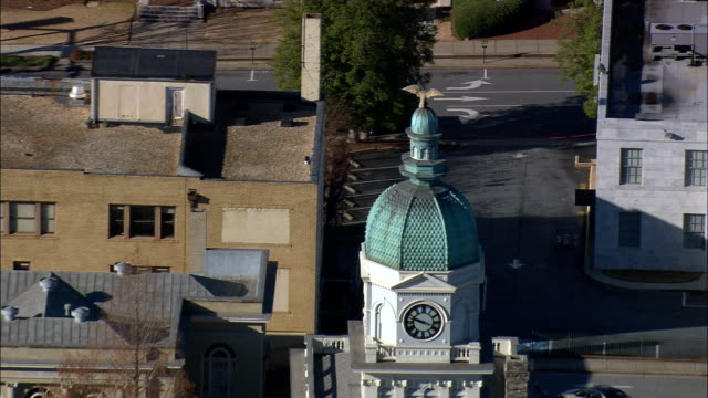 City Hall,  Athens  - Aerial View - Georgia,  Clarke County,  United States