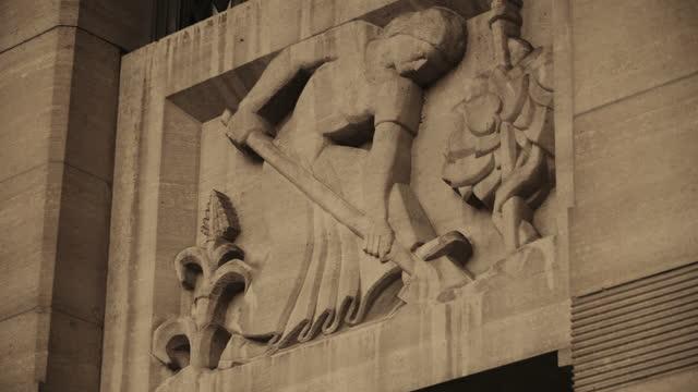 city hall in buffalo, new york - buffalo new york state stock videos & royalty-free footage