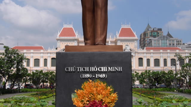 city hall in ho chi minh city, vietnam - government stock videos and b-roll footage
