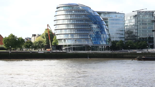 city hall in london, hd video - gla building stock videos & royalty-free footage