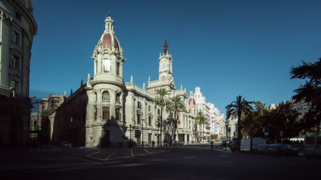 City Hall in the city of Valencia