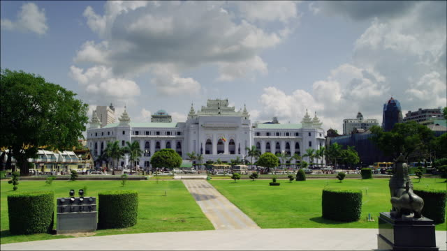 City Hall in Yangon, Myanmar.
