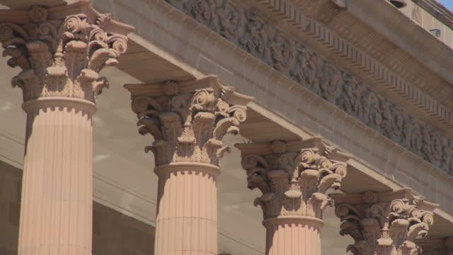 vídeos y material grabado en eventos de stock de city hall macroplaza mty - capitel