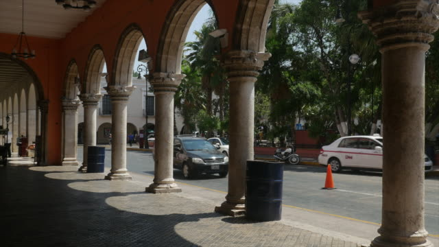 City hall of Merida, the White City of Mexico