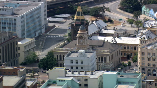 City Hall Square  - Aerial View - Eastern Cape,  Nelson Mandela Bay Metropolitan Municipality,  Nelson Mandela Bay,  South Africa