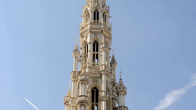 City Hall Stadthuis à la Grand-Place de Bruxelles