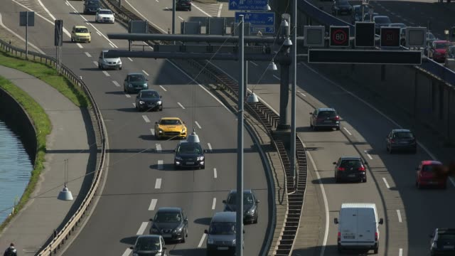 City Highway A620, Saarbrucken, Saarland, Germany, Europe