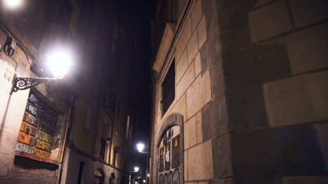 city impressions at night - facade stock videos & royalty-free footage
