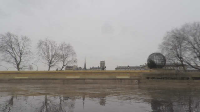 city in the rain, paris - french culture stock videos & royalty-free footage