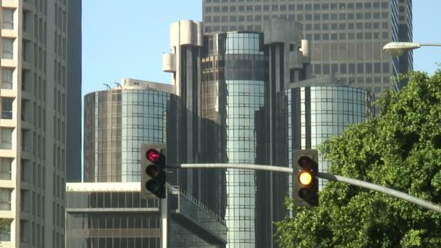 HD1080i) ville carrefour (feu rouge tourne