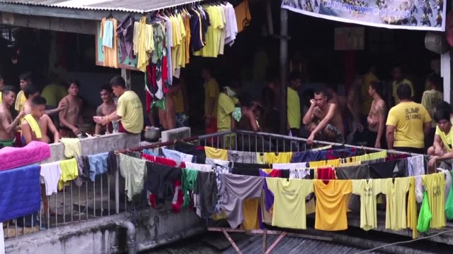 A city jail in Manila is struggling to manage its operations because of over population