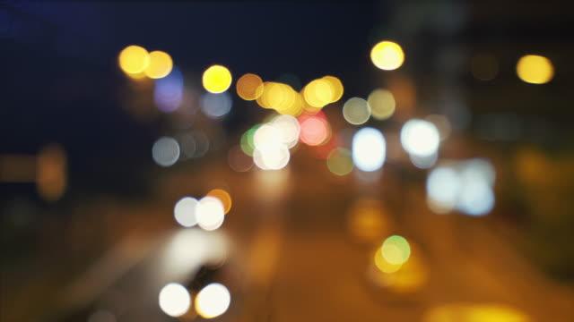 city life cinemagraph. - luce vivida video stock e b–roll