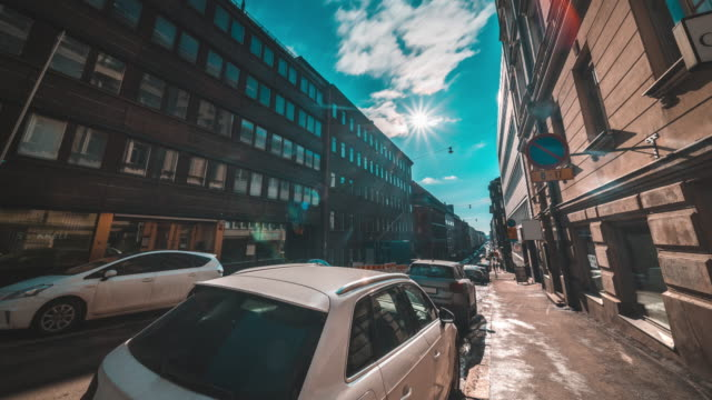 city life in helsinki finland - protestantism stock videos & royalty-free footage