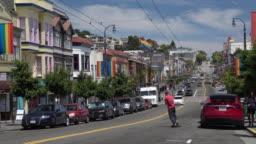 City Life in San Francisco Castro District