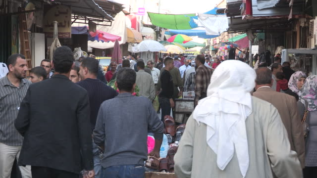 city life, nablus, palestine - palestinian territories stock videos and b-roll footage