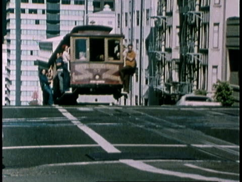 1978 montage city life / san francisco, california, united states - 1978 stock videos and b-roll footage