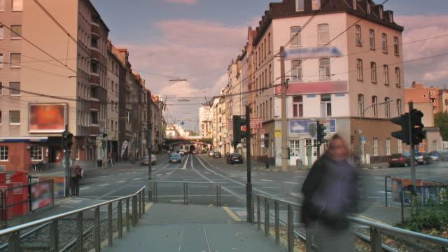 city life - north rhine westphalia stock videos & royalty-free footage
