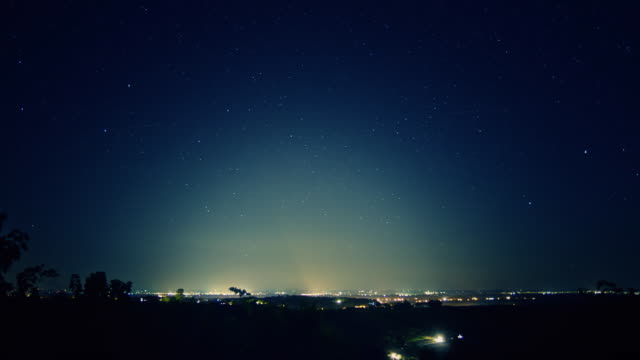 HD TIME-LAPSE: City Light Pollution
