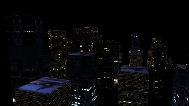 hd: city lighting up - illuminated stock videos & royalty-free footage