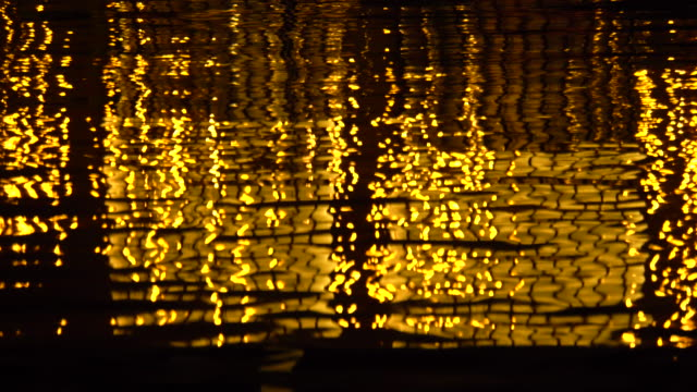 city lights reflections - plusphoto stock videos & royalty-free footage