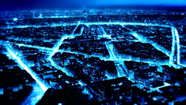 stockvideo's en b-roll-footage met city lights - wetenschap en techniek