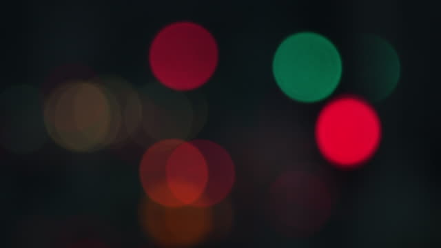 city lights - christmas lights stock videos & royalty-free footage